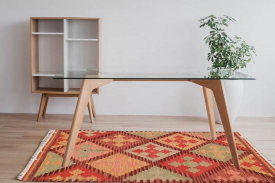 Tappeto Kilim Rettangolare 04B misura 95x155 cm