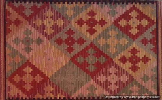 Tappeto Kilim Turkestan 04V5