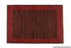 Tappeto Kilim 09FC60 fatto a mano, 128x185 cm