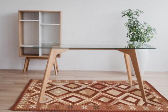 Tappeto Kilim per ingresso e salotto 1-BR 95x155 cm