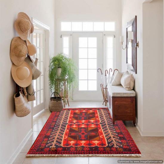 Tappeto Persiano Baluch 1001 misura - Dimensioni 134x82 cm