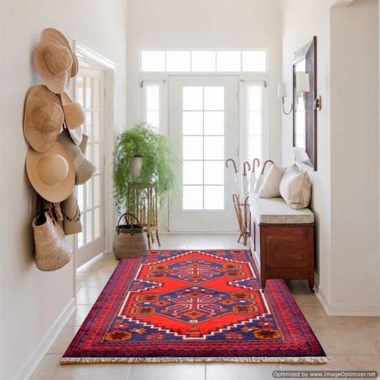 Tappeto Persiano Baluch 1002 - Dimensioni 142x87 cm