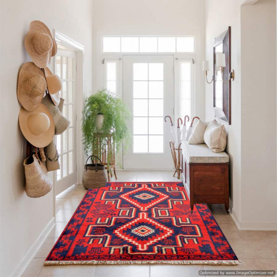 Tappeto Persiano Baluch 1007 - Dimensioni 136x88 cm