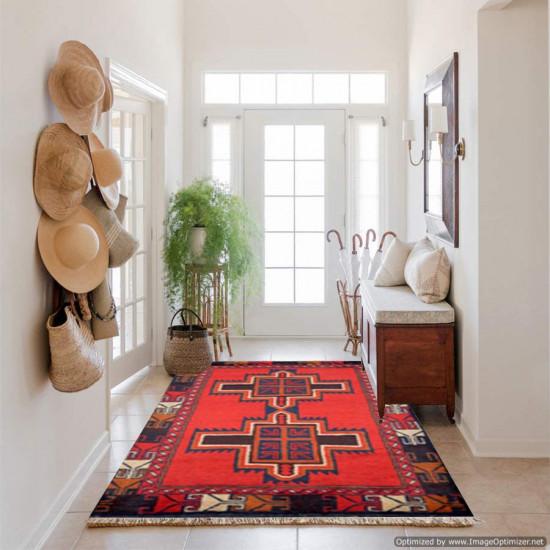 Tappeto Persiano Baluch 1009 - Dimensioni 136x85 cm