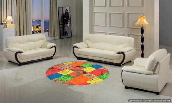 Tappeto Kilim Patchwork 10454 123x127 cm