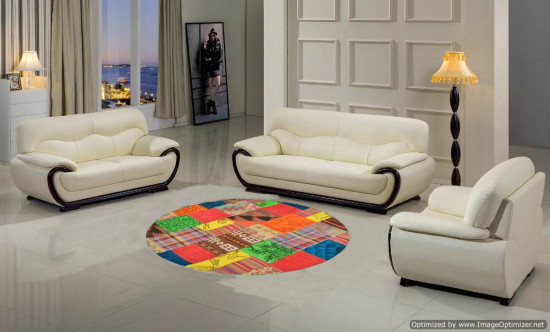 Tappeto Kilim Patchwork 10458 129x129 cm