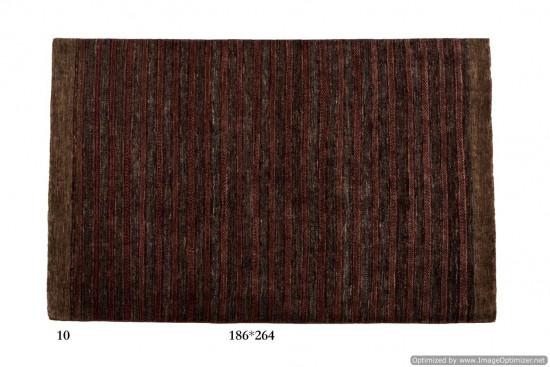 Tappeto Gabbeh Moderno Persia Annodato a mano-264x186 col.10
