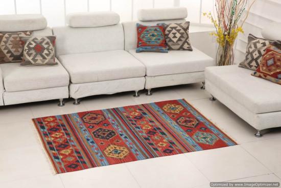 Afghan Kilim 18 Dimensione 128x185 cm