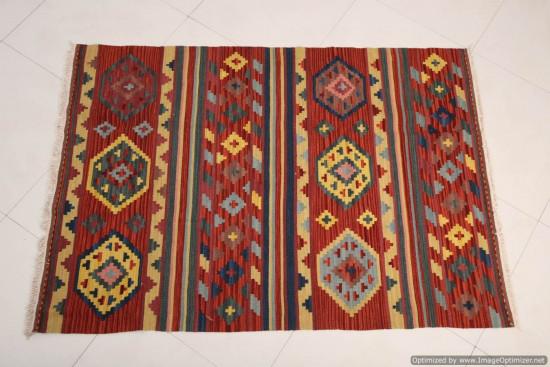 Tappeto Kilim Turkestan 4044A-128x185