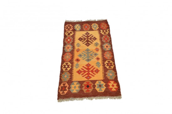 Tappeto Kilim Afgano 1121 misura 95x54 cm