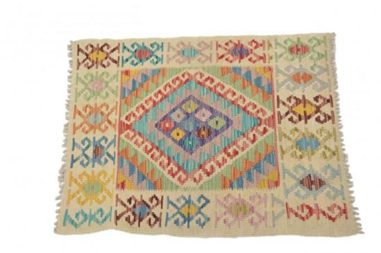Tappeto Kilim Afgano 1126 misura 86x66 cm
