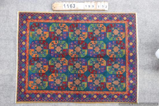 Tappeto Persiano Aqcha  1163 misura 199x152 cm