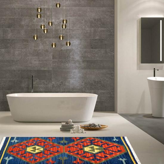 Tappeto Kilim per bagno DYX03-65x110 cm