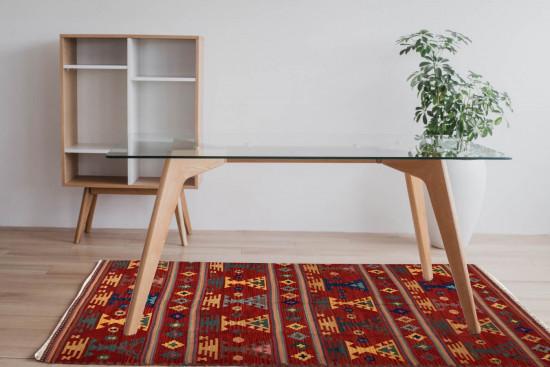 Tappeto Kilim Rettangolare 13-2 misura 95x155 cm