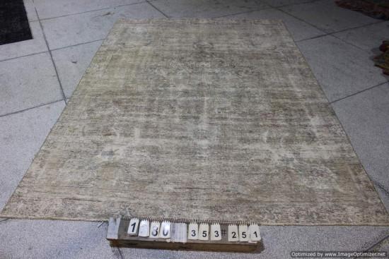 Tappeti Iraniani Vintage Overdyed 1380 - Dimensioni 353x251 cm
