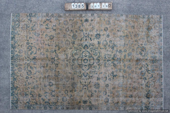 Tappeti Iraniani Vintage Overdyed 1385 misura 301x190 cm