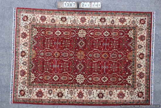 Tappeto Persiano Chobi 1387 misura 293x202 cm