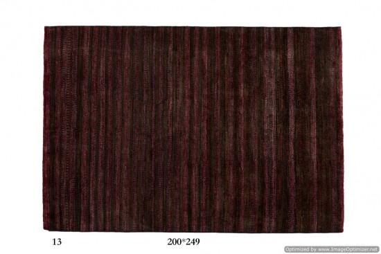 Tappeto Gabbeh Moderno Persia Annodato a mano-249x200 col.13