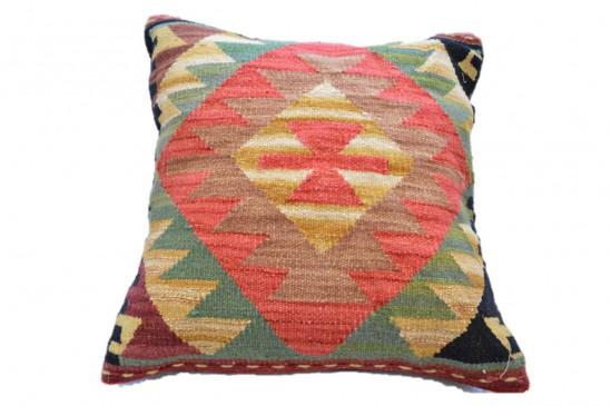 Cuscino Kilim in stile afgano - Dimensioni 45x45 cm