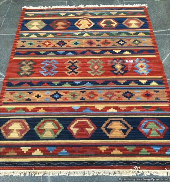 Tappeto Kilim Turkestan 15-13 Fatto a Mano