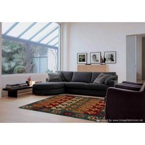 Tappeto Kilim per salotto 15-2 misura 175x235 cm