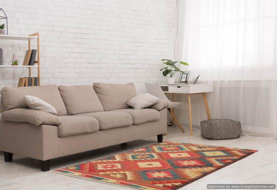 Tappeto Kilim Rettangolare 15-5 misura 128x185 cm