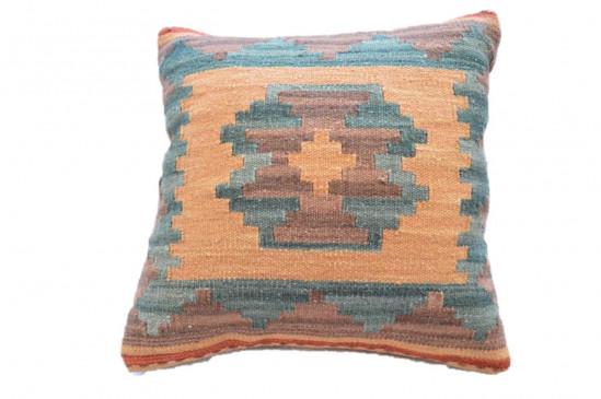 Cuscino Kilim per arredo in stile afgano - Dimensioni 45x45 cm