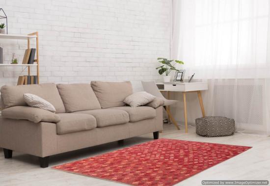 Tappeto Kilim Afgano 156 - Dimensioni 192x155 cm