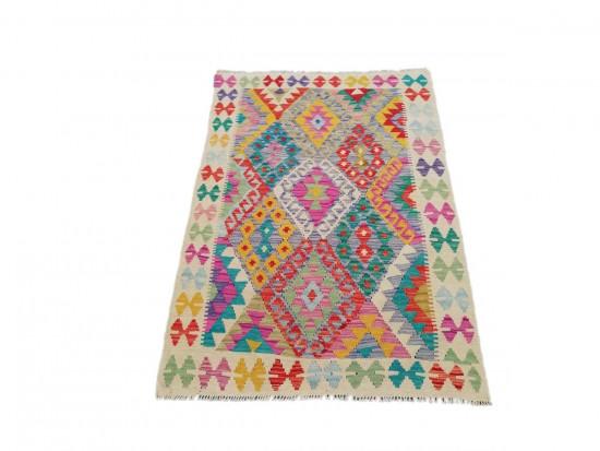 Tappeto Kilim Afgano 1582 misura 106x148 cm