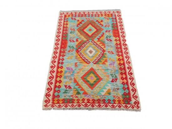 Tappeto Kilim Afgano 1584 misura 106x159 cm