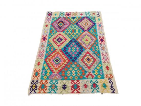 Tappeto Kilim Afgano 1585 misura 121x177 cm