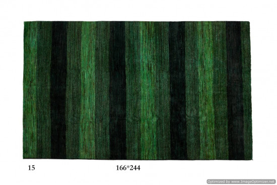 Tappeto Gabbeh Moderno Persia Annodato a mano-244x166 col.15