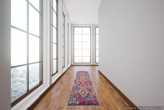 Passatoia Kilim Afgana 1600 misura 72x245 cm