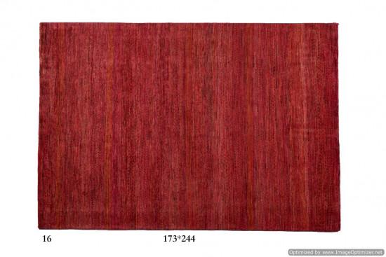 Tappeto Gabbeh Moderno Persia Annodato a mano-244x166 col.4