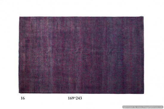 Tappeto Gabbeh Moderno Persia Annodato a mano-243x169 col.16