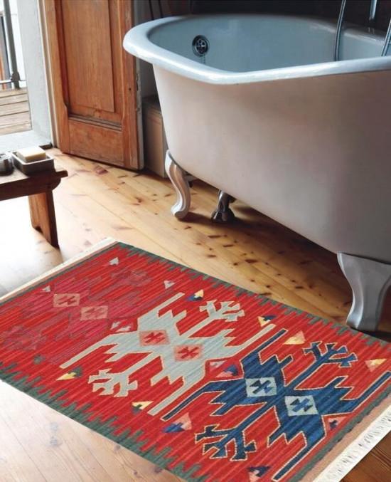 Tappeto Kilim per bagno 1834A 65x110 cm