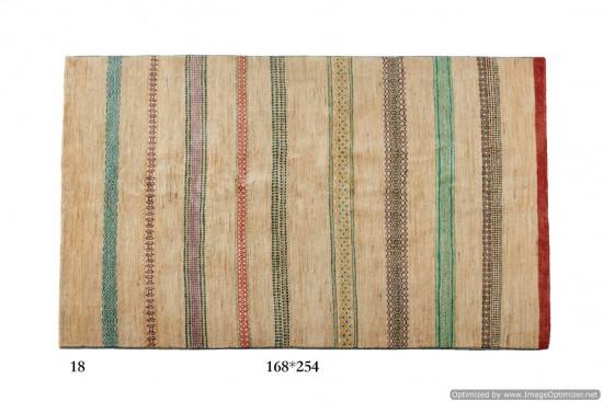 Tappeto Gabbeh Moderno Persia Annodato a mano-254x168 col.18