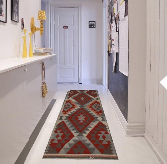 Tappetto passatoia Kilim FC5 cucina e corridoio