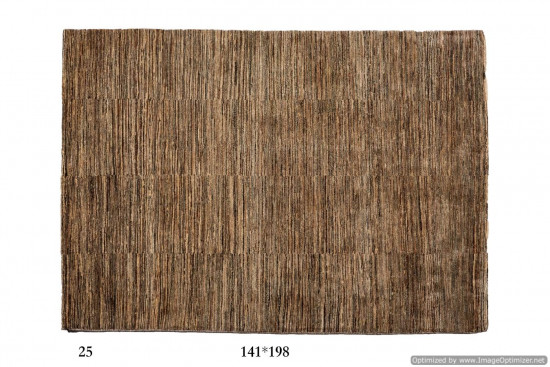Tappeto Gabbeh Moderno Persia Annodato a mano-193x141 col.25
