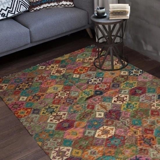 Tappeto Kilim Afgano 30 misura 291x201 cm