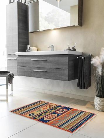 Tappeto Kilim per bagno FC04A-65x110