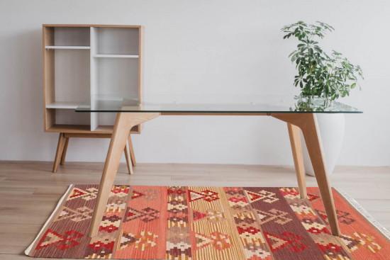 Tappeto Kilim Rettangolare 4- misura 95x155 cm