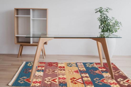 Tappeto Kilim Rettangolare 4-B misura 95x155 cm