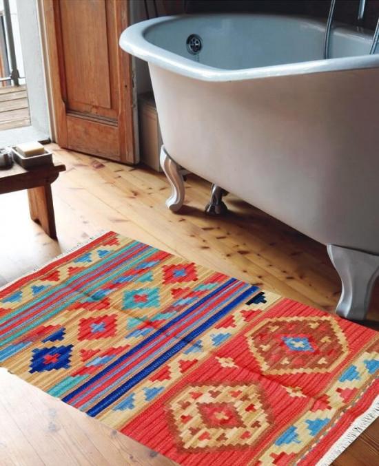 Tappeto Kilim 4044 per il bagno 5x110 cm