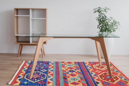 Tappeto Kilim Rettangolare 4044 misura 95x155 cm