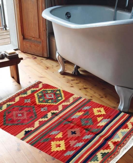 Tappeto Kilim 4044A per il bagno 65x110 cm