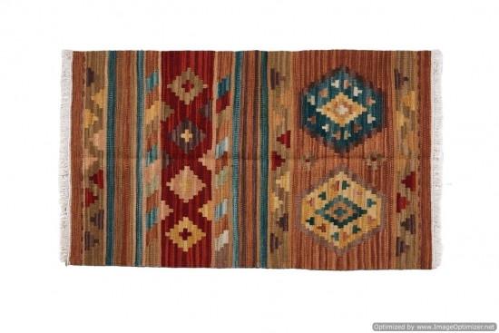 Afghan Kilim 44, Miss Cucci,Dimensione 95x155 cm