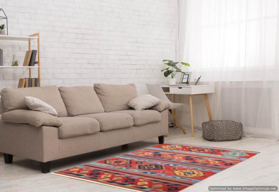Tappeto Kilim Rettangolare 4048 Misura 128x185 cm