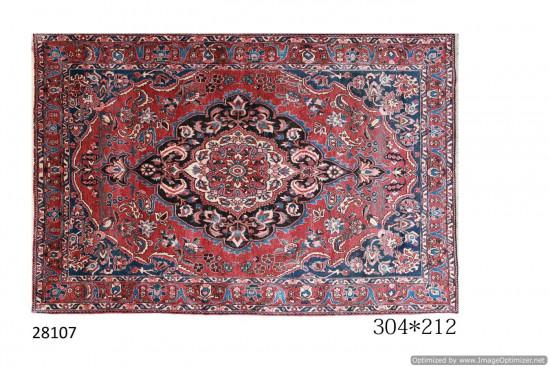 Tappeto Persiano Bakhtiari Saman - Dimensioni 212x304 cm