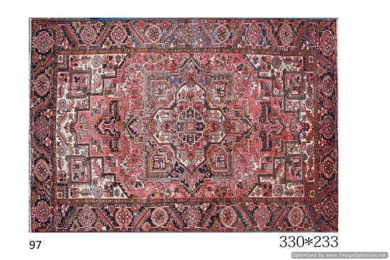 Tappeto Persiano Heriz, 233x330 cm